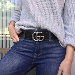 Double G Gucci Belt